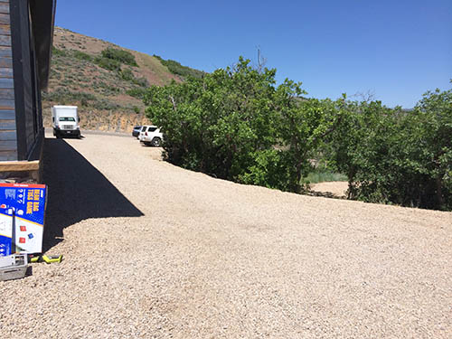 Blue Sky Ranch Side Path